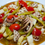 Recipe ::  Squid and Celery Stir-fry