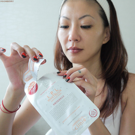 Singapore's Hottest Celebrity Blogger | Leaders Clinic Mask
