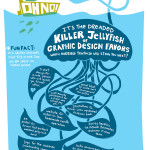 The Dreaded Killer Jellyfish of Graphic Design Favors