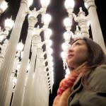 LA Travelogue :: Urban Light by Chris Burden at LACMA