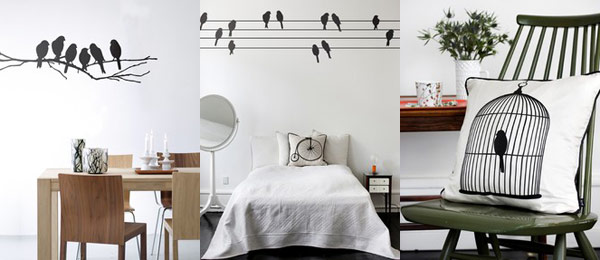 Home Decor :: Avian Chic   Singapore Top Lifestyle Blogger Moonberry