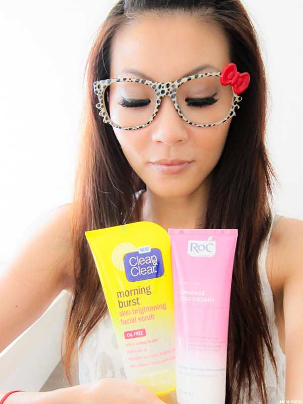 Singapore's Top Celebrity Blogger | Facial Scrub
