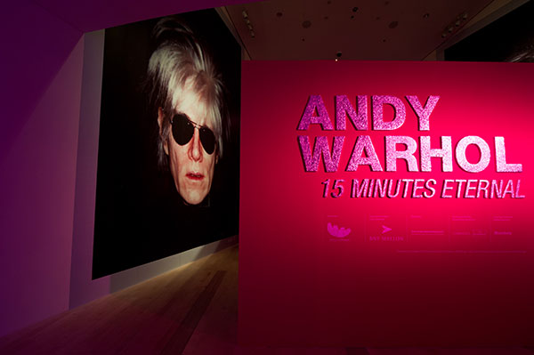 Andy Warhol: 15 Minutes Eternal    Singapore Top Lifestyle Blogger Moonberry