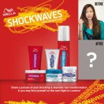 Hair Transformation with Wella Shockwaves Style Revolution