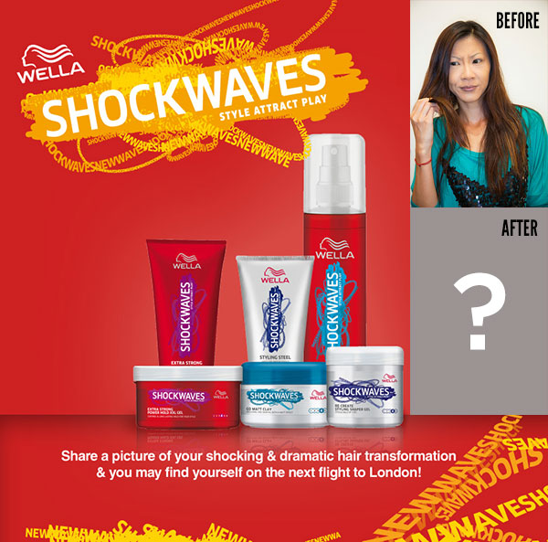 Wella Shockwaves Style Revolution | The Moonberry Blog