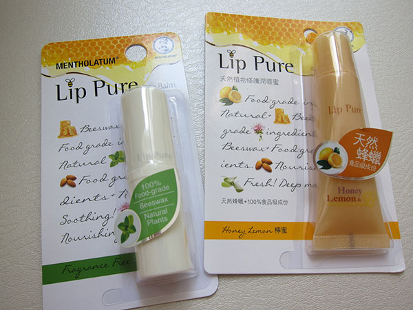 Lips TLC with Mentholatum Lip Pure Lip Balms   Singapore Top Lifestyle Blogger Moonberry