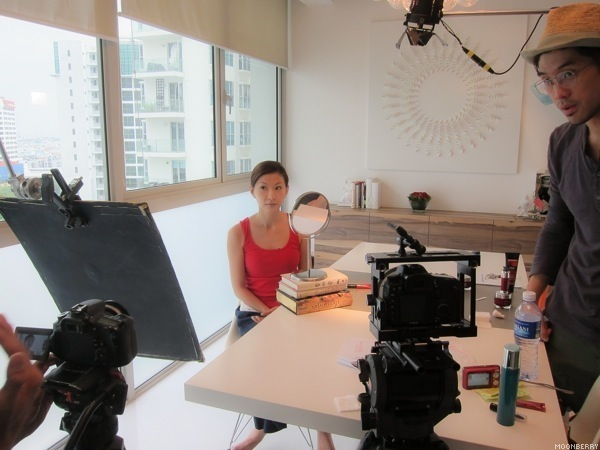 Olay Regenerist Video Shoot   Singapore Top Lifestyle Blogger Moonberry