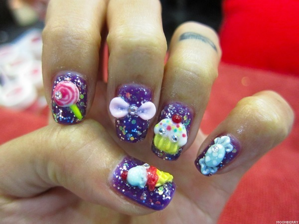 Singapore Top Fashion Lifestyle Nail Art Blog Milly's Hair Lashes Nails
