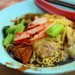 Hawker Center Wonton Noodle Ain't for Non-Pork Eaters