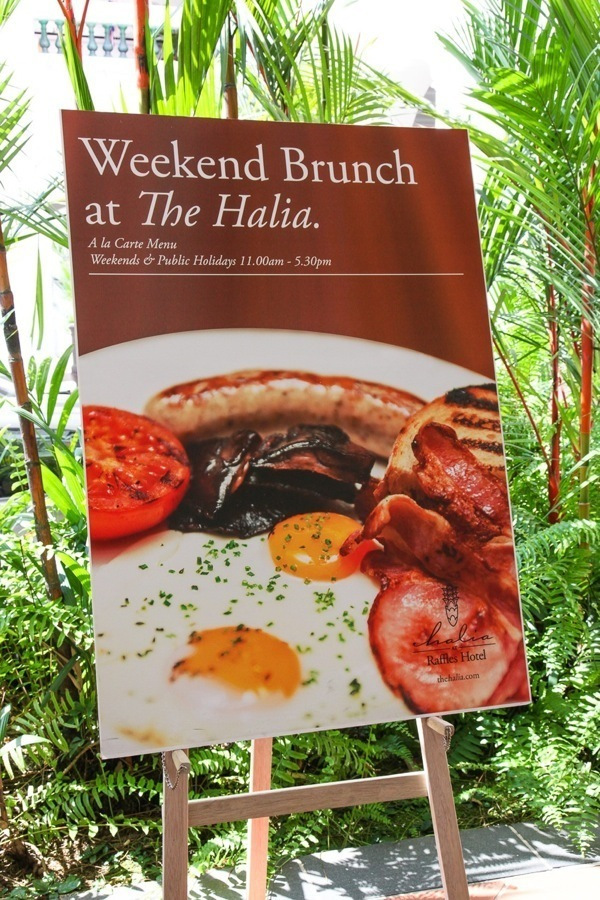 Singapore Top Lifestyle Blogger Halia Raffles Hotel Brunch