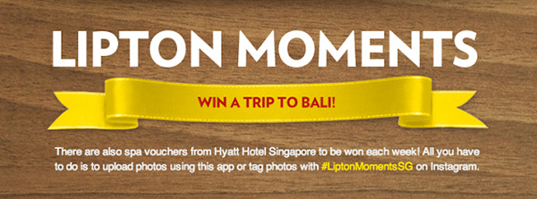 Singapore Top Lifestyle Blogger Lipton Moments Photo Contest