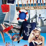 Set Sail with Nautical Manicure at Milly's Hair Lashes Nails