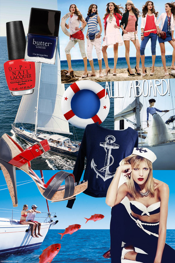 Nautical Trend by Singapore Best Lifestyle Fashion Blog Moonberry.com