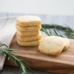 Recipe :: Rosemary Lemon Butter Cookies