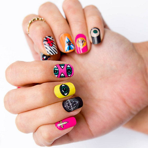 Gummi Nails Singapore Designer Nail Wraps