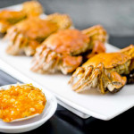 Classic Cantonese Hairy Crab at Peony Jade