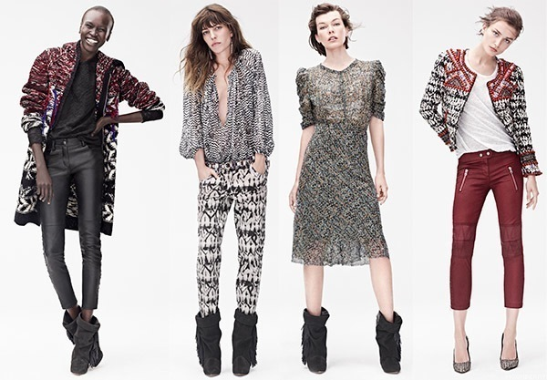 Handm Clothing For Women Isabel marant x h&m collection the moonberry ...