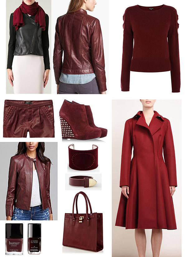 Oxblood Style Roundup The Moonberry Blog