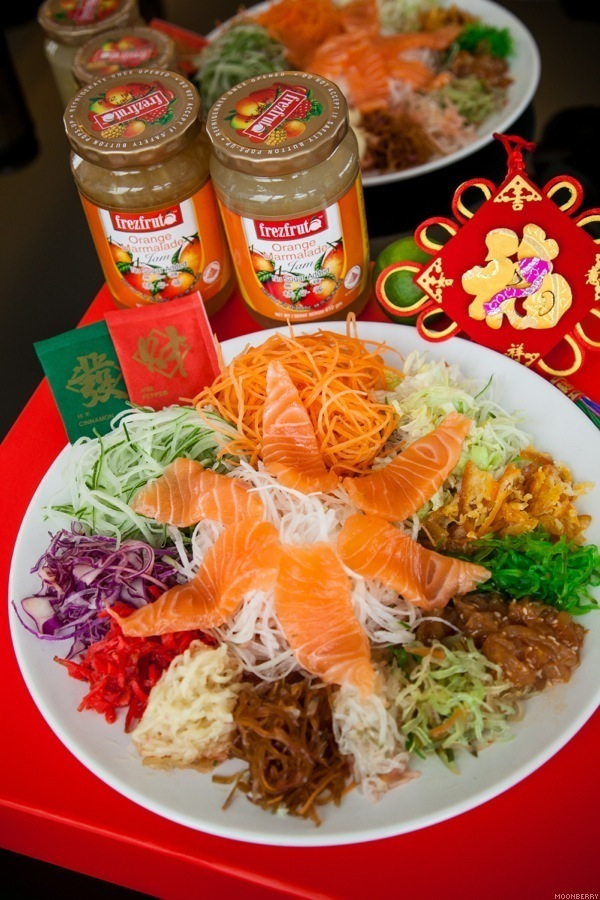DIY Homemade Yu Sheng Sauce with FrezFruta