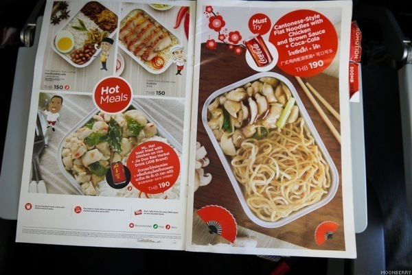 AirAsia Singapore In Flight Meal