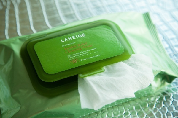 Laneige Trouble Relief Cleansing Tissue