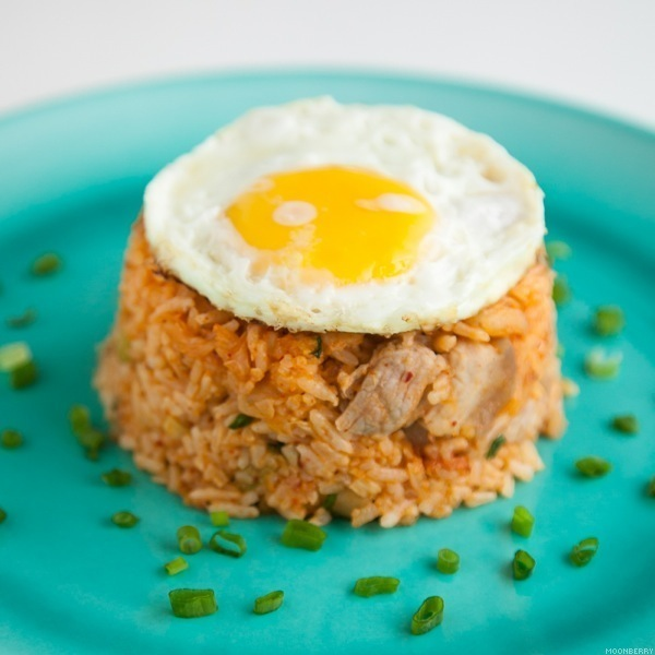 Recipe :: Kimchi Fried Rice | The Moonberry Blog