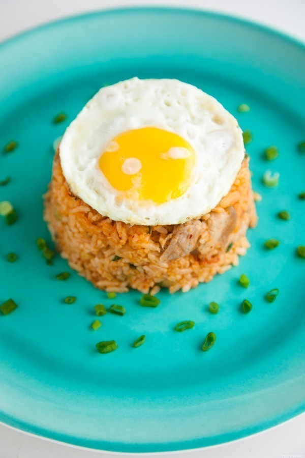 Kimchi Fried Rice Recipe | The Moonberry Blog