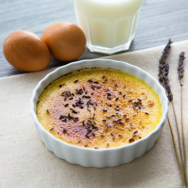 Recipe :: Lavender Creme Brulee | The Moonberry Blog