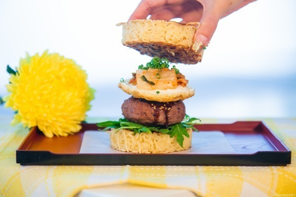 Ramen Burger Recipe by The Moonberry Blog
