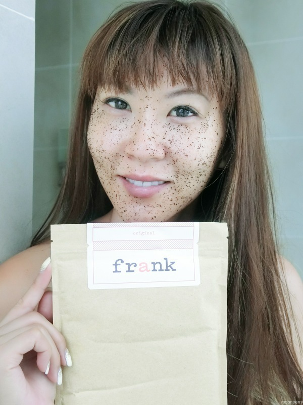 The Moonberry Blog - Frank Body Scrub