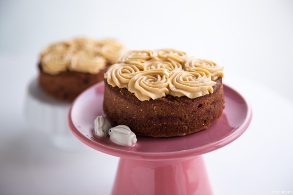 Moonberry Banana Cake Salted Caramel Recipe