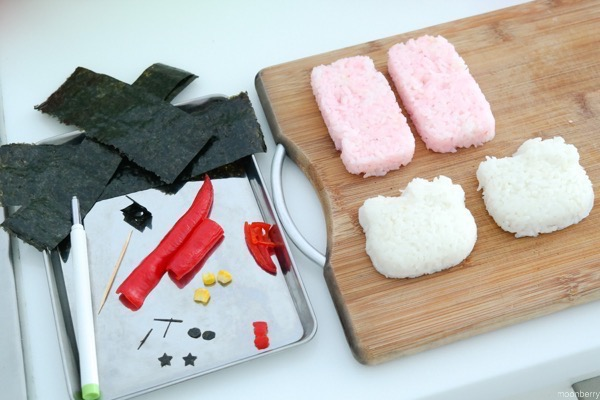 Hello Kitty Spam Musubi